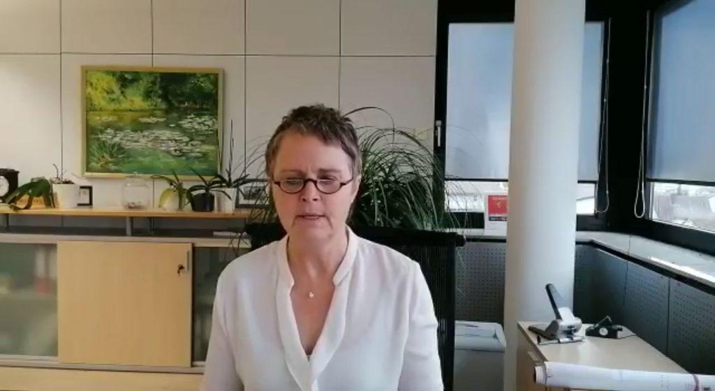 Videobotschaft der Landrätin Kirsten Fründt